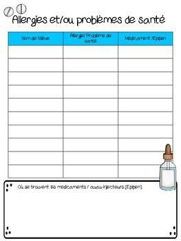 Planificateur de l'enseignant primaire