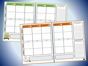 Planificateur (guide de planification) 2016-2017, horaire de 4 périodes (v5)
