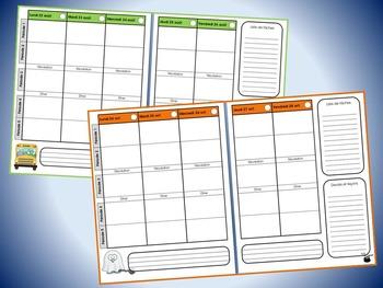Planificateur (guide de planification) 2016-2017, horaire de 5 périodes (v4)