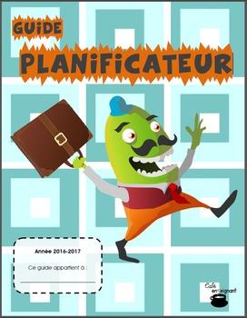 Planificateur (guide de planification) 2016-2017, horaire