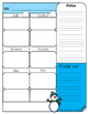 Planification hebdomadaire (5 périodes-3am/2pm)