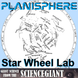 Planisphere Lab Activity: A Star Wheel for Constellation E
