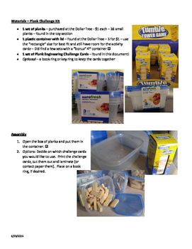 Plank Engineering Kits