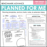 Planned for Me: First Grade (Benchmark Advance)