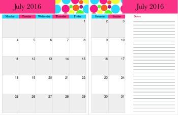 Planner 2015-2016