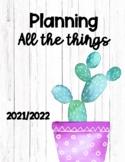 Planner 2021-2022(Non-traditional classroom educator)