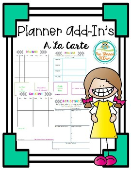 Planner Add In's (A La Carte)