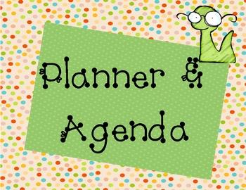Planner & Agenda Classroom Label