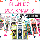 Planner Printable - Bookmarks | FREE