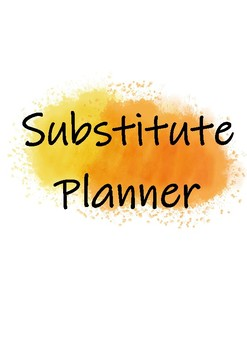 Planner Colours- Yellow and Orange