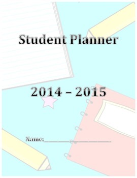 Planner Cover - Student