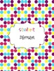 Planner Cover and Dividers Polka Dots