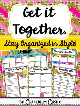 Planner {Get It Together}