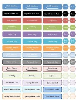 Planner Labels