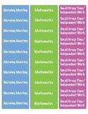 Planner Labels for Happy Planner, Erin Condren, Teacher Planner, etc.