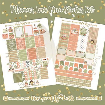 Planner Love Printable Planner Stickers Mini Kit