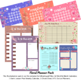 Calendar Planner Pack   Daily Weekly Monthly