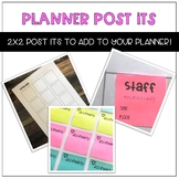 Planner Post Its- Labels