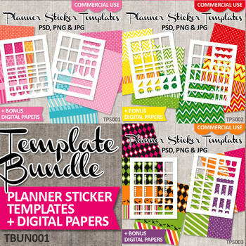 Erin Condren Templates Teaching Resources Teachers Pay Teachers - Sticker layout template