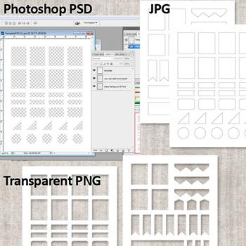 For ECLP Erin Condren Vertical JPGPDFSilhouette Compatible Cut File Foil Texture Brushstrokes Date Cover Printable Planner Stickers