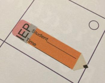 IEP Reminder Planner Sticker