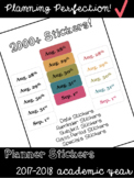 Planner Stickers for Erin Condren Teacher Planner 2017-201