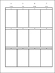Planner Weekley Editable Template White