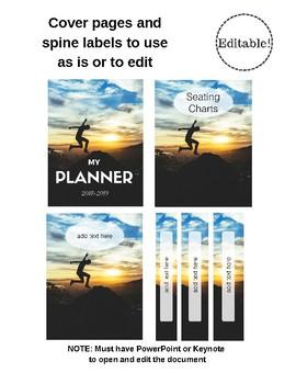 Fun! Planner and Calendar (Editable and Customizable)