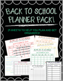 Planner and Organizer Pack