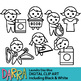 Planner clip art - Laundry Day