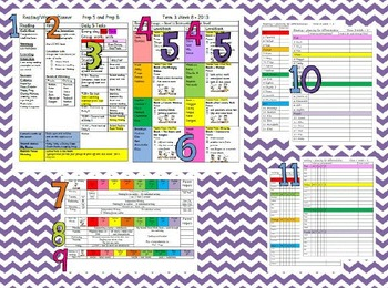 Planner for Reading and Writing editable