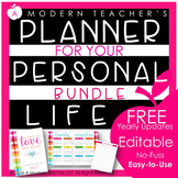 Planner for Your Personal Life BUNDLE
