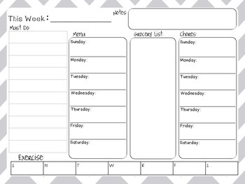 Planner for the busy mom