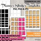 Planner stickers templates  - EC Hardbound Life Planner Ve