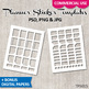 Planner stickers templates commercial use / No. 15