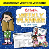 Editable Weekly Planners