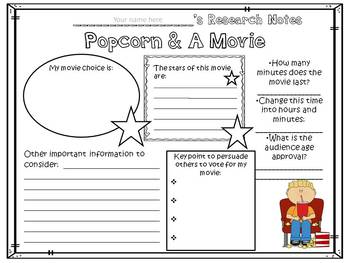 Planning A Popcorn Party An Inquiry Based Math Project