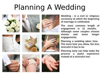 Planning A Wedding PowerPoint