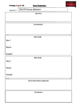 Planning An IELTS Essay