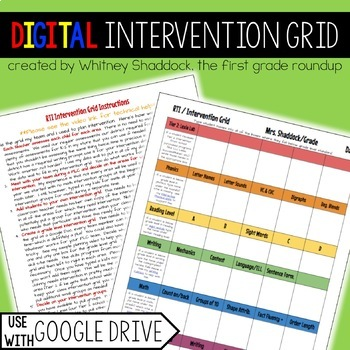 Planning And Assessment Tools Compatible With Google Drive BUNDLE