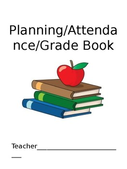 Planning/Attendance/Record Book