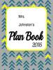 SAMPLE Planning Binder Cover Design *Editable*