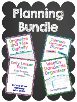 Planning Bundle! 50% off!