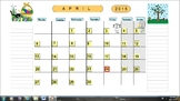 Planning Calendar School Year 2014-2015 (Canadian version)