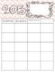 Planning Calendar Template 2013-2014