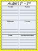 Planning Calendar for 2016-2017 school year