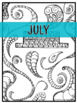 Planning Calendar/Year at a Glance/To do Lists : Any class or MUSIC (Zen Doodle)