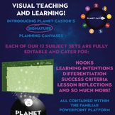 Planning Canvas Toolkit | ALL Subjects, 400+ Exemplars & A