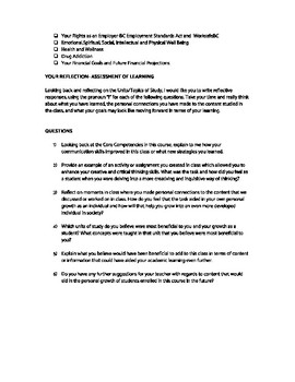 Planning/Career Ed Curriculum Reflection- BC