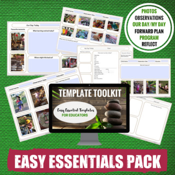 Early Years Programming Template Pack